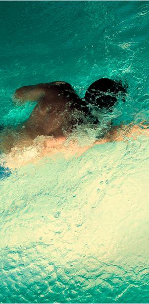 guy swim